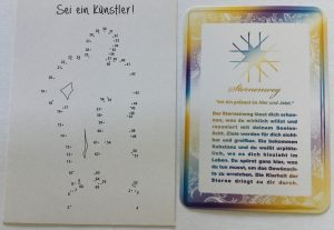 Postkarten Botschaft 31.07.17 Sternenweg